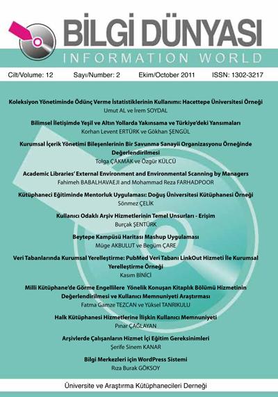 Cilt 12 Sayı 2 (2011)