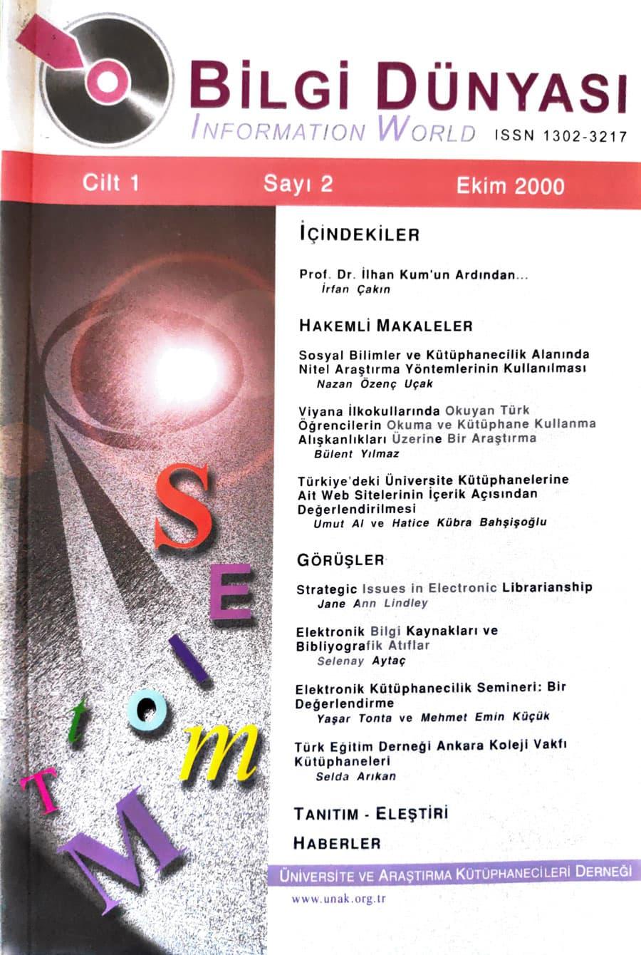 Vol. 1 No. 2 (2000)