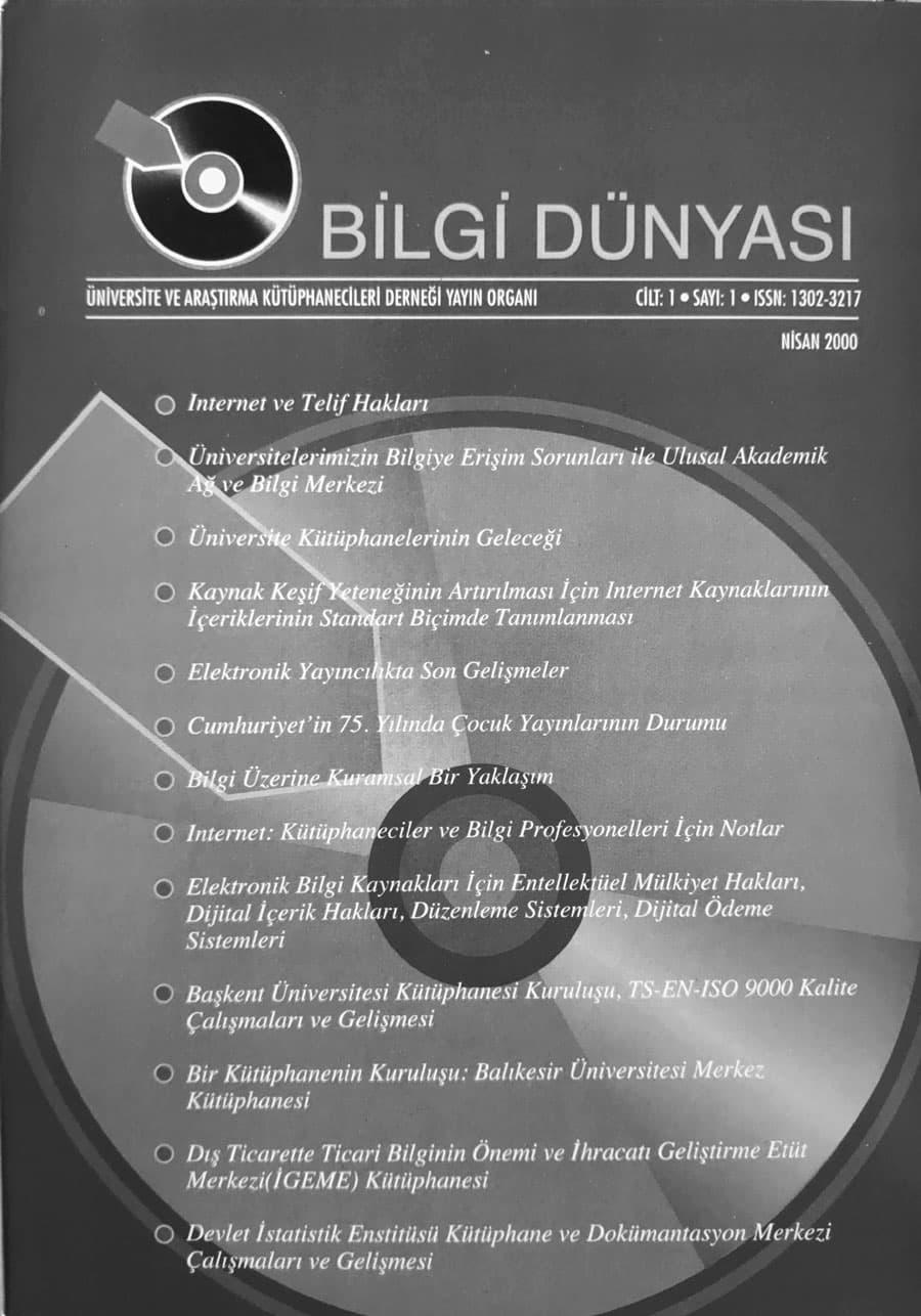 Vol. 1 No. 1 (2000)